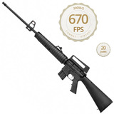 Carabina Pressão Rossi Rifle M-16 R S - 5,5mm Frete Grátis