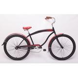 Bicicleta Playera Especial Slp R26 Chopera C/ Guardabarros