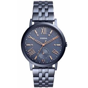 a03057afb85 Relogio Fossil Feminino Es2950 Metálico Vermelho - Relógios De Pulso ...