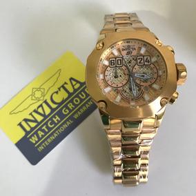 4cb6808b2bd Relogio Invicta Dourado Gigante 80mm - Relógios De Pulso em Goiás no ...
