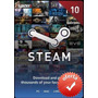 Steam Gift Card $10 En Pc Linux Mac Para Steam Valve Wallet