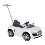 Coche De Empuje Audi Push Car Kiddy Plata Blanco Punto Bebe