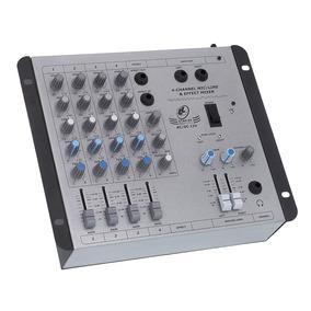 Mesa De Som Mixer Ll Audio Star 4 12v 4 Canais Com Efeitos
