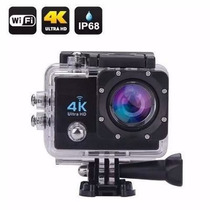 Filmadora Full Hd 1080p 4k Wifi Camera Esporte Capacete 16mp