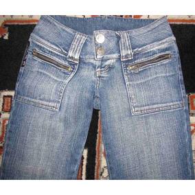 Calça Jeans Feminina Marca W.jeans Tam.38 S/strech 250