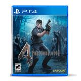 Juego Playstation 4 Resident Evil 4 Ps4 Ibushak Gaming