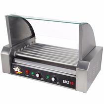 Máquina Para Parilla Roller Dog Hot Dog 18 Piezas De Rodillo