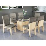 Conjunto Mesa Jantar Kappesberg Estévia Com 6 Cadeiras Cad10