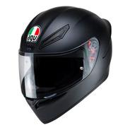 Casco Agv K1 Para Moto Negro Mate Certificado Motocity