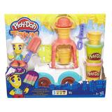 Play-doh Caminhão De Sorvete Town Cidade Hasbro B3417