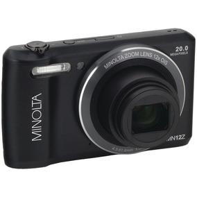 Minolta 20 Mega Píxeles De Cámara Digital Wifi Con Zoom Ó