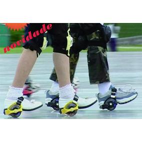 Patins Adaptado Tenis Skate Patinete Pe Lazer Roda Led Verao