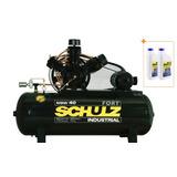 Compressor De Ar 40 Pes 425 Litros Msw 40 Trifásico Schulz