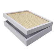 Caixa Decorativa 25,5x20,5 Mdf Laqueado Branco Luxo