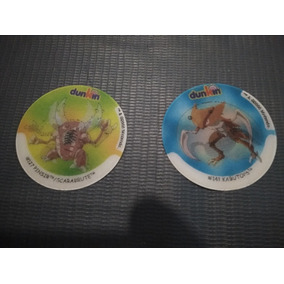 Master Tazos - Coleção Pokémon Dunkin Tridimensional