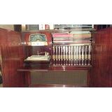 Mueble Combinado De Madera Con Tocadisco Y Radio !! Vintage