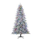 Arbol De Navidad Nevado Platinum 2.74 M Con 570 Leds