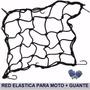 Red Pulpo Para Moto 40x40 Ganchos Metálicos Ideal Casco