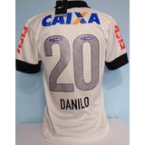 Camisa Corinthians Nike Craque Danilo 2013 Com Patch Da Fifa