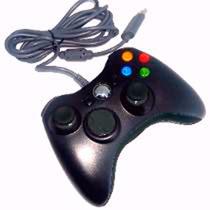 Joystick Controle Com Fio Xbox 360 Pc Notebook Teem 2914