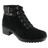 Coturno Bota Feminina Ankle Boot Via Marte 17-19803 17-19801