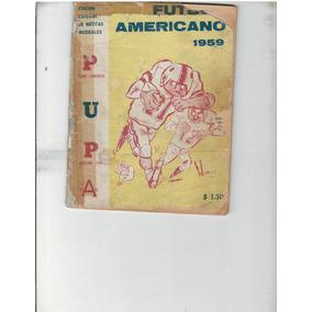 Futbol Americano Guia De Prensa Pumas Unam 1959