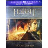 El Hobbit, Trilogía, Versión Extendida 9 Discos Bluray Nuevo