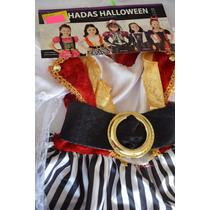 Disfraz De Niña , Pirata, Talla 6-7 Hallowen