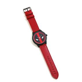 Marvel Deadpool Reloj Pulsera En Estuche Metálico Original