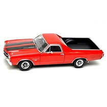 Auto De Colección Metal 1970 Chevrolet El Camino Welly