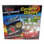 Livro Educativo Infantil História Carros 2 Cenário Disney 3d