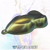 Fx Paint - Pintura Efecto Camaleon - Dorado Y Verde - 500ml