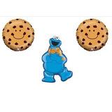 Cookie Monster Cumpleanos Decoraciones De Globos Mylar F X01