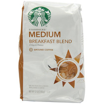 Starbucks Desayuno Mezcla Café Tierra Bolsas 12 Onzas (paque