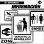 Señales Industriales Avisos Carteles. Informativas