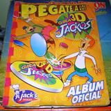 Álbum De Tazos Varios Jacks Snacks Pokemón Hanna Barbera