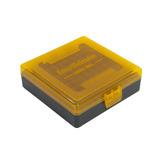Caixa Smart Reloader P/100 Munições Cal 22lr/ 25acp -laranja