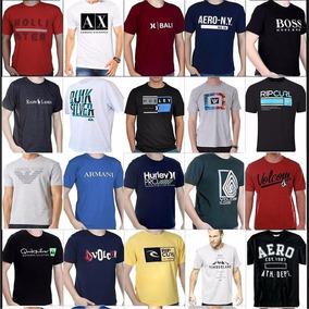 Kit 5 Blusas Masculinas Promoção Camisetas Camisas Atacado 920013cc28c