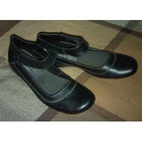 Zapato Casual Vestir Negro Damas 39