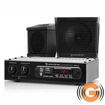 Kit Som Ambiente Receiver Hayonik Usb Bluetooth +caixas +fio