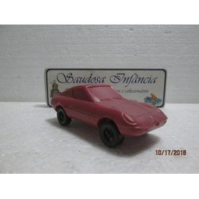 Miniatura Puma Vermelha Tubarão Plástico Bolha Soprado