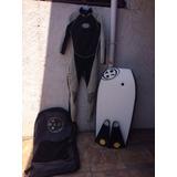Traje De Agua Surf Maui + Tabla +bolso 6c154400252