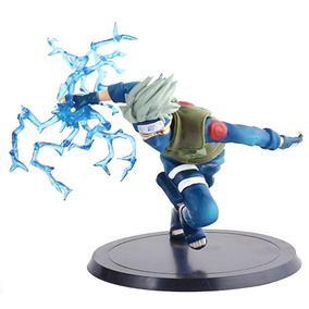 Kakashi Action Figure Naruto Boneco Brinquedo