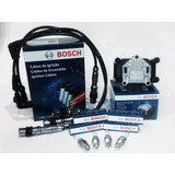 Kit Bosch Bobina Encendido, Cables Y Bujias Vw Gol Power 1.4