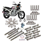 Clown Kit Parafusos Allen Inox Motor Cbx 250 Twister B1i