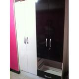 Closet Moderno Formica Y Tabla Usado Remate