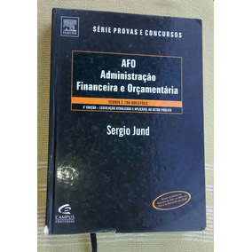 Afo Administração Financeira E Orçamentária - Série Provas E