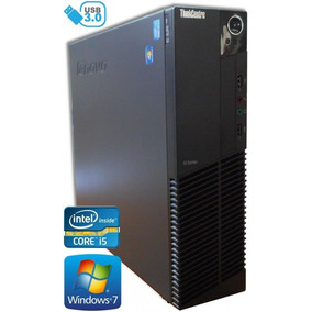 Computador Cpu I5 Lenovo Sff 6gb 500gb Windows 7 Pro