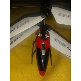Helicoptero Control Remoto Con Repuesto Con Su Cargador