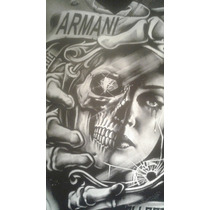 Remera Armani Xl L Y M Nuevas Excelente Con Bolsa